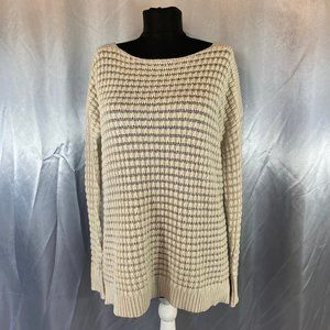 Theory womens knit scoop neck sweater